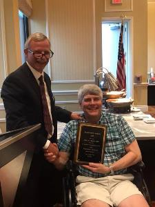 Dr. Woods Receives Award