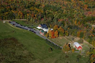 Aerial View Maple Hill Farm